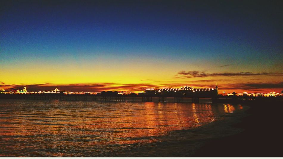 My Best Photo 2014 Brighton pier at sunset. I love the reflection