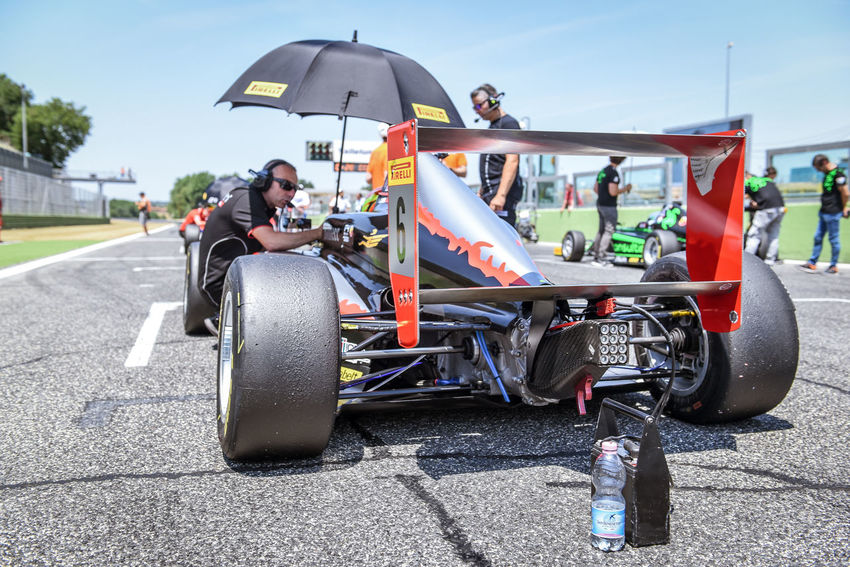 Formula 4 Abarth car on starting grid Abarth Car Cars Editorial Use Only Formula 4 Large Group Of People Men Motor Sport Outdoors People Racing Racing Car Real People Starting Grid Starting Line