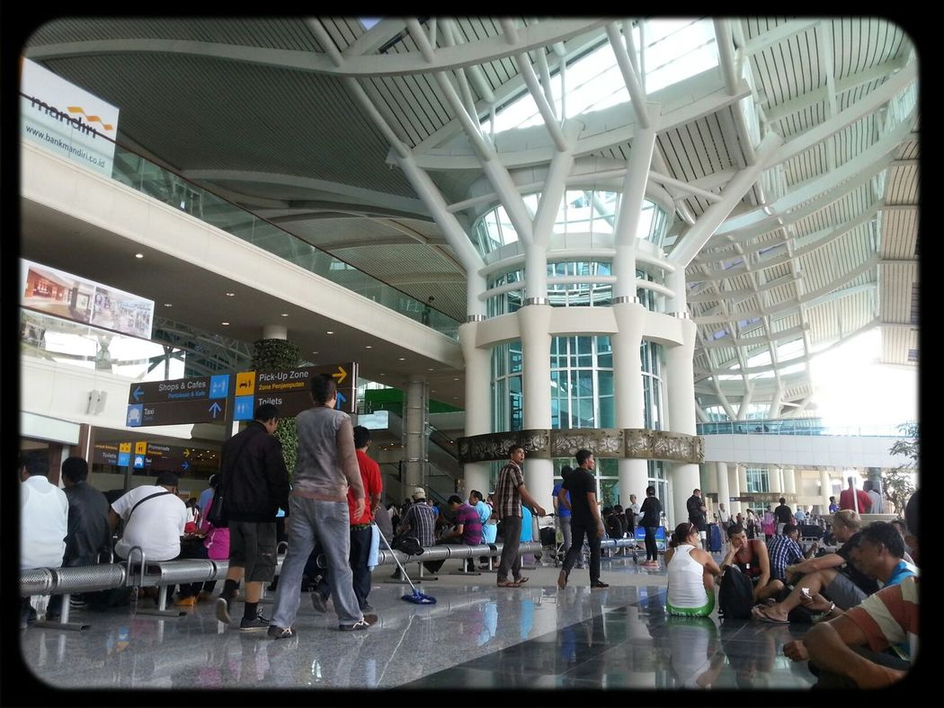 bali airport waiting for our flight Bali Bali Airport