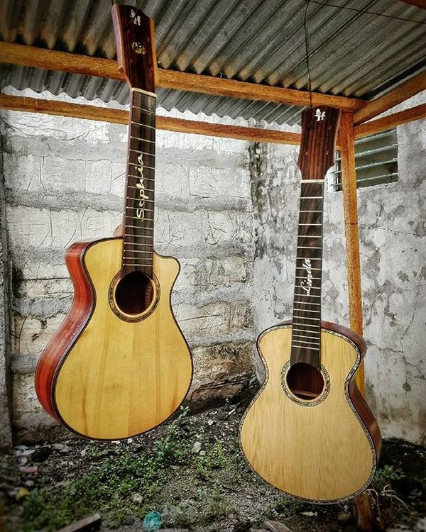 "Two ""Sexy Ladies"" Sophia - off to Missouri Linda - off to Singapore Whenwilltheymeetagain . . . . . . . Comingsoon Huniukuleles Ukecebu Handcrafted Custom Sprucetop Bayongwood Artisan Passion Worldclass Chillmode Choosehappy Pinoypride Garbobisaya"