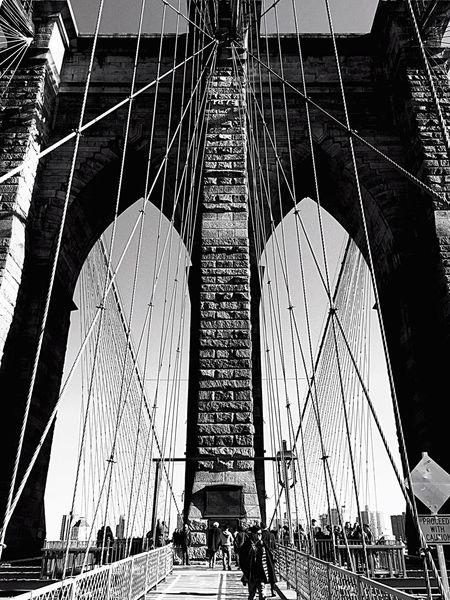Newyork Brooklyn Bridge / New York Brooklyn Thebestofnewyork EyeEm Best Shots - Black + White Blackandwhite