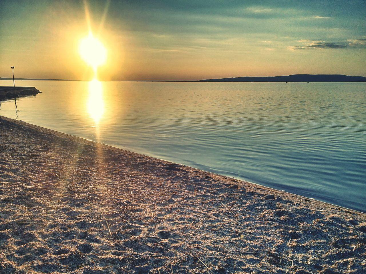 Beach Sun Sunset Sunlight Sunshine sunset #sun #clouds #skylovers #sky #nature #beautifulinnature #naturalbeauty photography landscape Sunny Day Sunnyday Beach Life Beachtime