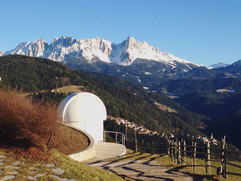 Observatory Space Observatory Südtirol Italy Great Views Panorama Space Adventure Seeing Stars Planets Spectacular Latemar Mountain Mountain View Alps Dolomites South Tyrol San Valentino Gummer Space Alto Adige Trentino Alto Adige