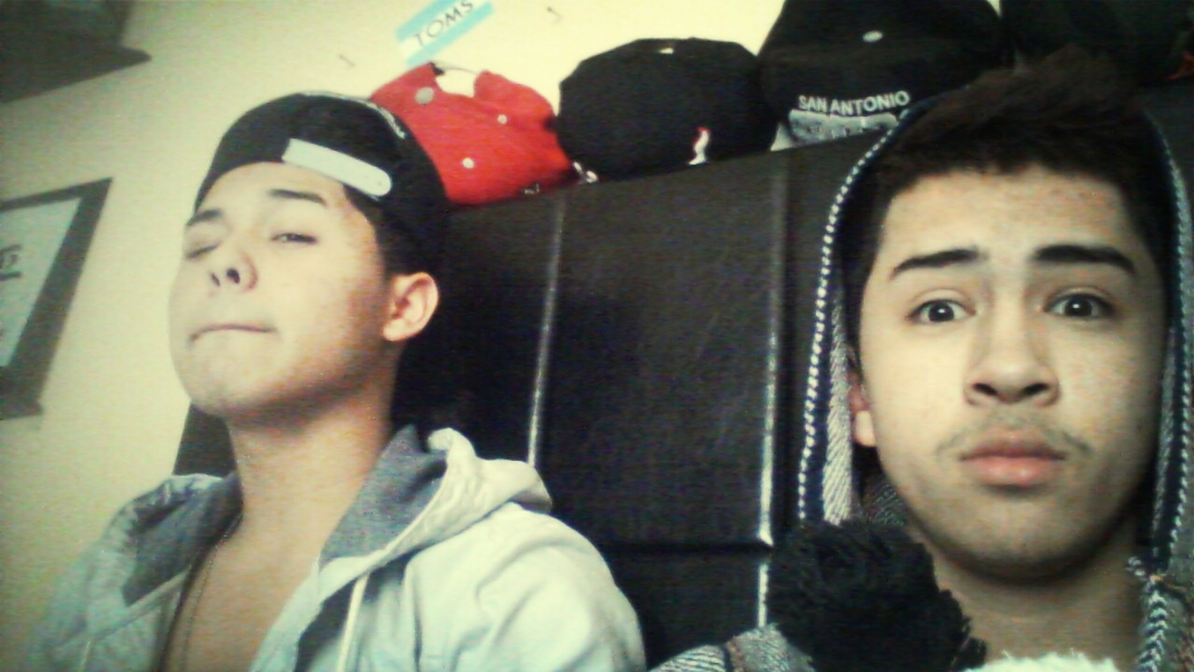 Right Out Of Bed Looking Dead With My Brother :)