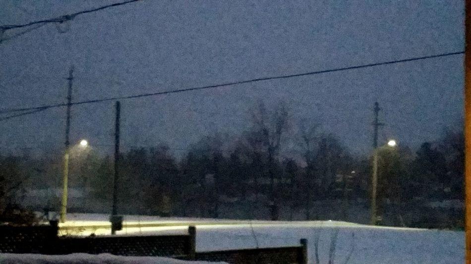 Snow ❄ Frezzing Raining Snowy Nights