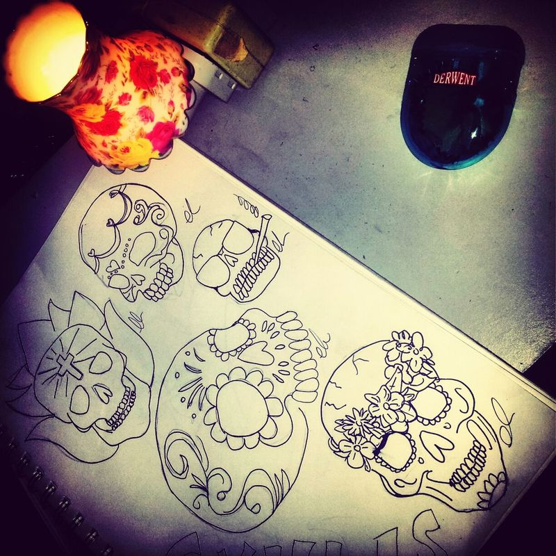 Tattoodrawings Girlswithtattoos My Drawings