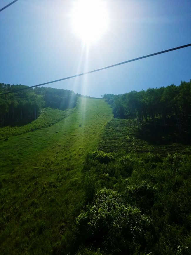 Ski slope without the snow...time to bike down! Taking Photos Hanging Out Relaxing Enjoying Life Escaping Hiking Taking Photos Nature Photography Naturelovers Natural Light Love Of Nature Love Of Photography Sun Shining Down On Me Sun Enjoying The Moment Feel The Journey Park City, Utah