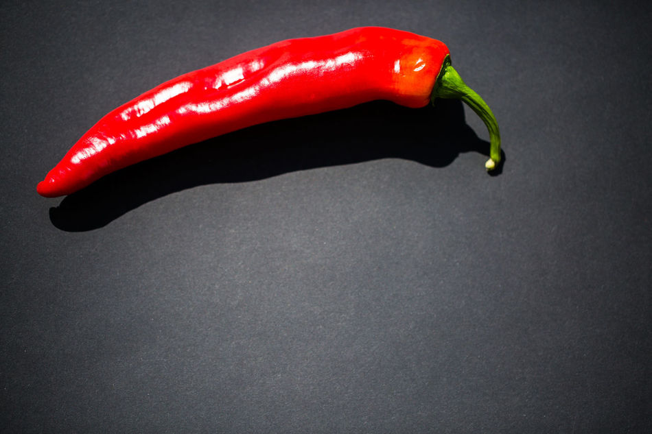 Bell Pepper Black Background Close-up Day Food Food And Drink Freshness Green Chili Pepper Healthy Eating High Angle View Indoors  No People Red Red Bell Pepper Spice Still Life Studio Shot Vegetable