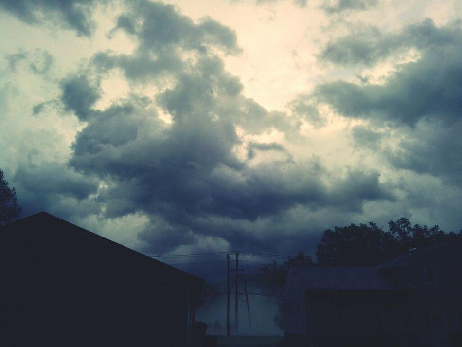 Fog Sun_collection, Sky_collection, Cloudporn, Skyporn Spring Storm