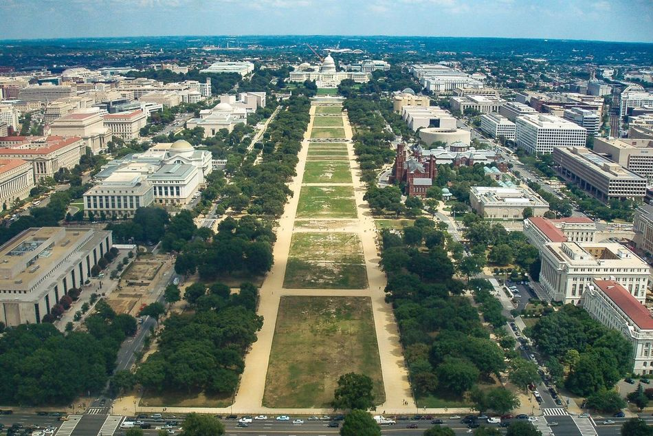 View From Above Mall Capitol Washington DC Respect For The Good Taste Let's Do It Chic! EyeEm Best Shots Exceptional Photographs Aerial View Architecture Built Structure Building Exterior Tree Outdoors No People Panoramic View City Cityscape Water Sky Nature Beauty In Nature (null)Washington, D. C.