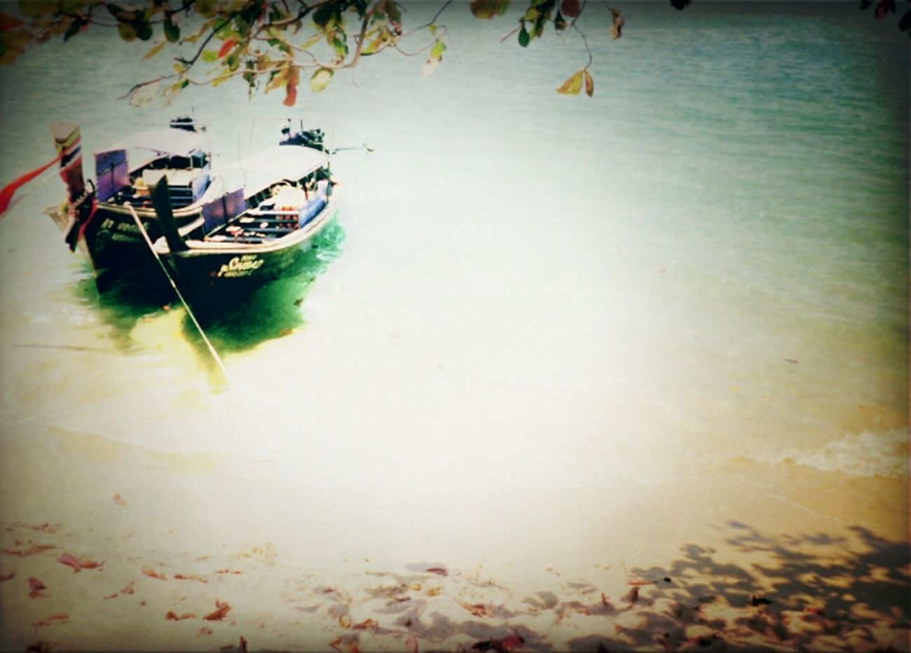 Sea Beach Nature Boats Wave Boat Thailand Sand Phuket