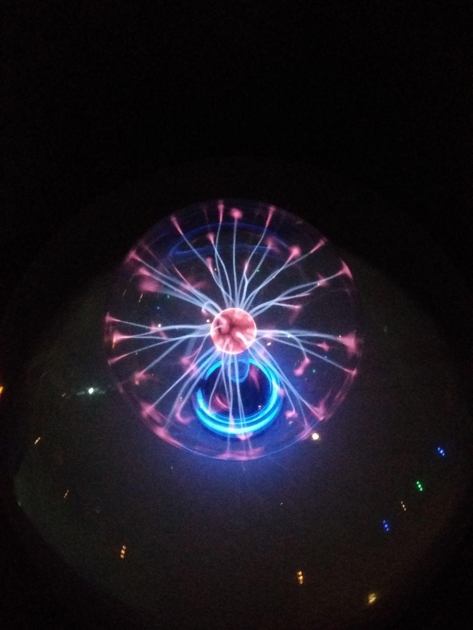 Plasma Ball Plasma Globe Outdoors Astronomy Science Center Vivo V3 Max No Edit Creative Photography Beautiful Colors Uniquephotography