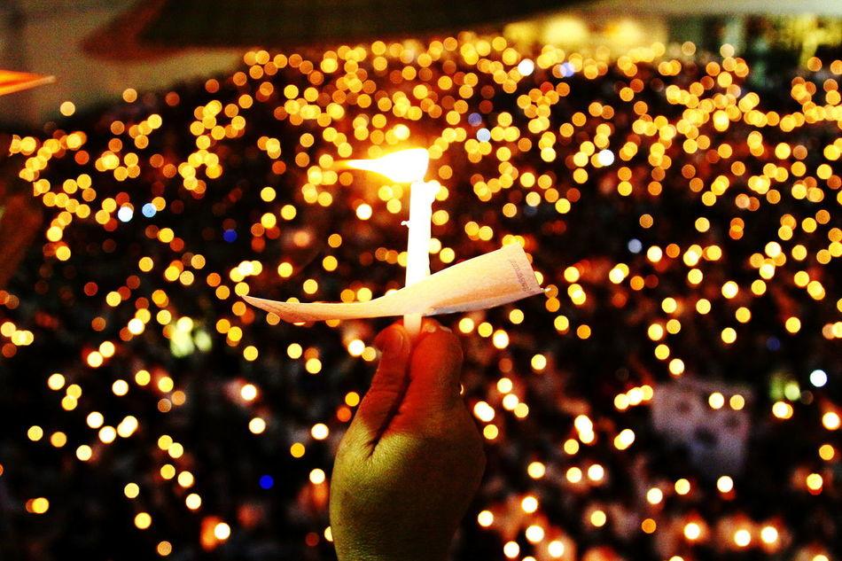Keeping the faith ... Night Celebration Human Hand Firework - Man Made Object People Close-up Bokehlicious Bokeh Lights Bokeh Background Bokeh Light BokehLove Bokeh Bokeh Photography Bokehphotography Candlelight Candle Light Candle Lighting  Candles Candles-collection Bokehlicious Photography Bokehful Bokeh Balls Candle Collection Candle Flame Candle Night EyeEmNewHere