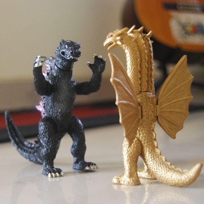 Godzilla vs King Ghidorah Gojira Godzilla KinguGidora KingGhidorah Tokusatsu Kaiju ActionFigure