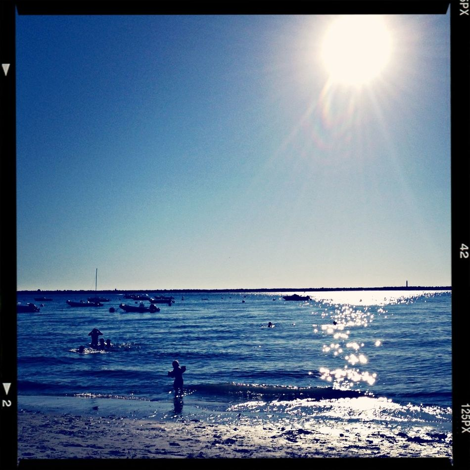 Hello World Enjoying The Sun Peace And Quiet Sea