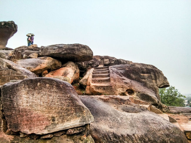 Caves Photography Khandagiricaves Hidden Gems  Udayagiricaves Caves Rocks Stairs Carved Rock in Bhubaneswar Odisha India