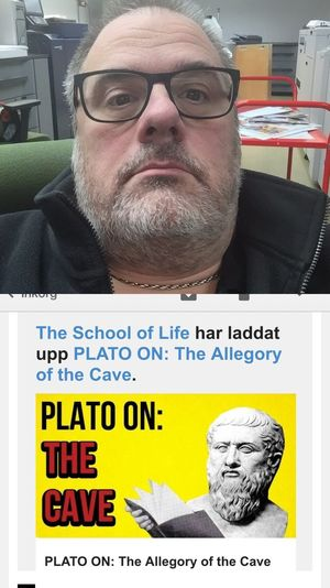 Stay in Cave or Leave the Shadow Alain De Botton School Of Life Plato Philosophy