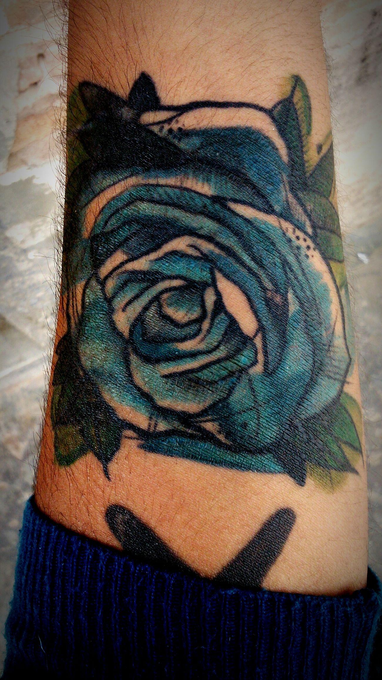 Bluerose Tattoo Newtattoo Colors Rosa Azul OpenEdit Nuevotatuaje