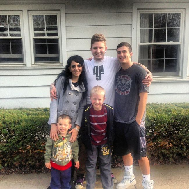 Had a good day with the Family today! Kids Brother Fyfnation