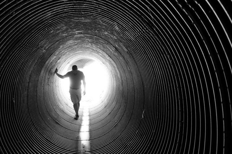 Playing in tunnels with light and perspective. Showcase: November Tunnels Light At The End Of The Tunnel Blackandwhite Photography Tucson Az Myhusband Underground Fromadistance Playingwithlight Perspective Vanishing Point Photography Eye4photography  Thephotographer Creativity Jorney Walktheline Silent Moment Myperspective Outdoor Photography Intothelight Glowing B&w Street Photography Recollections Of A Somber Mind