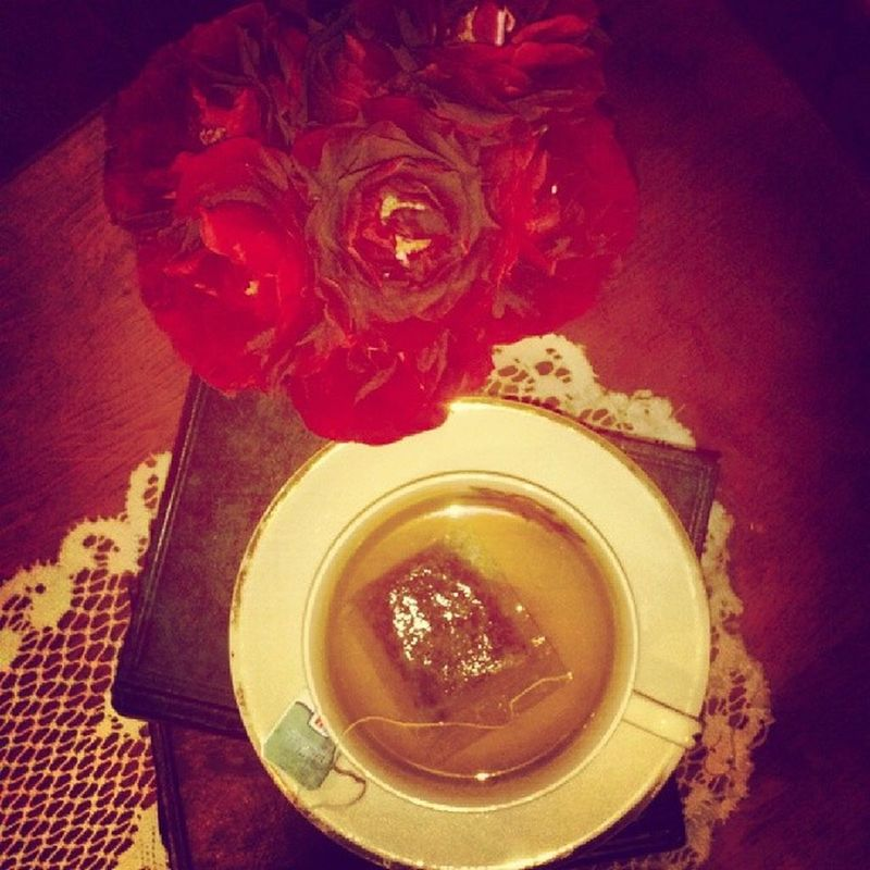 Spearminttea And Now who's gonna hve a cup of tea with me? I know.. that bitch, the loneliness. Depressed