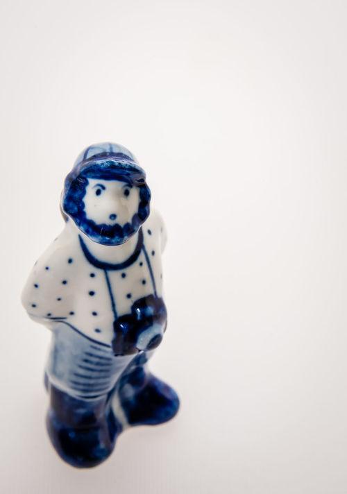 Close-up Day Figure Ghzel, No People Porcelain  Studio Shot White Background White Color