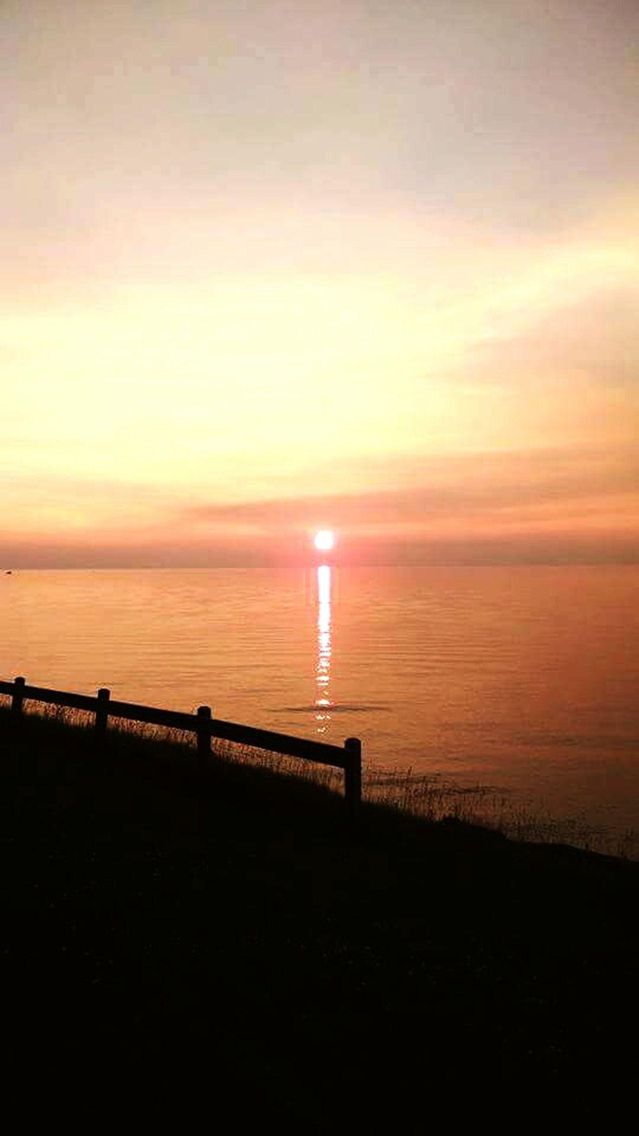 Sunset Beauty In Nature Beach Nature Horizon Over Water Lake Lake Superior