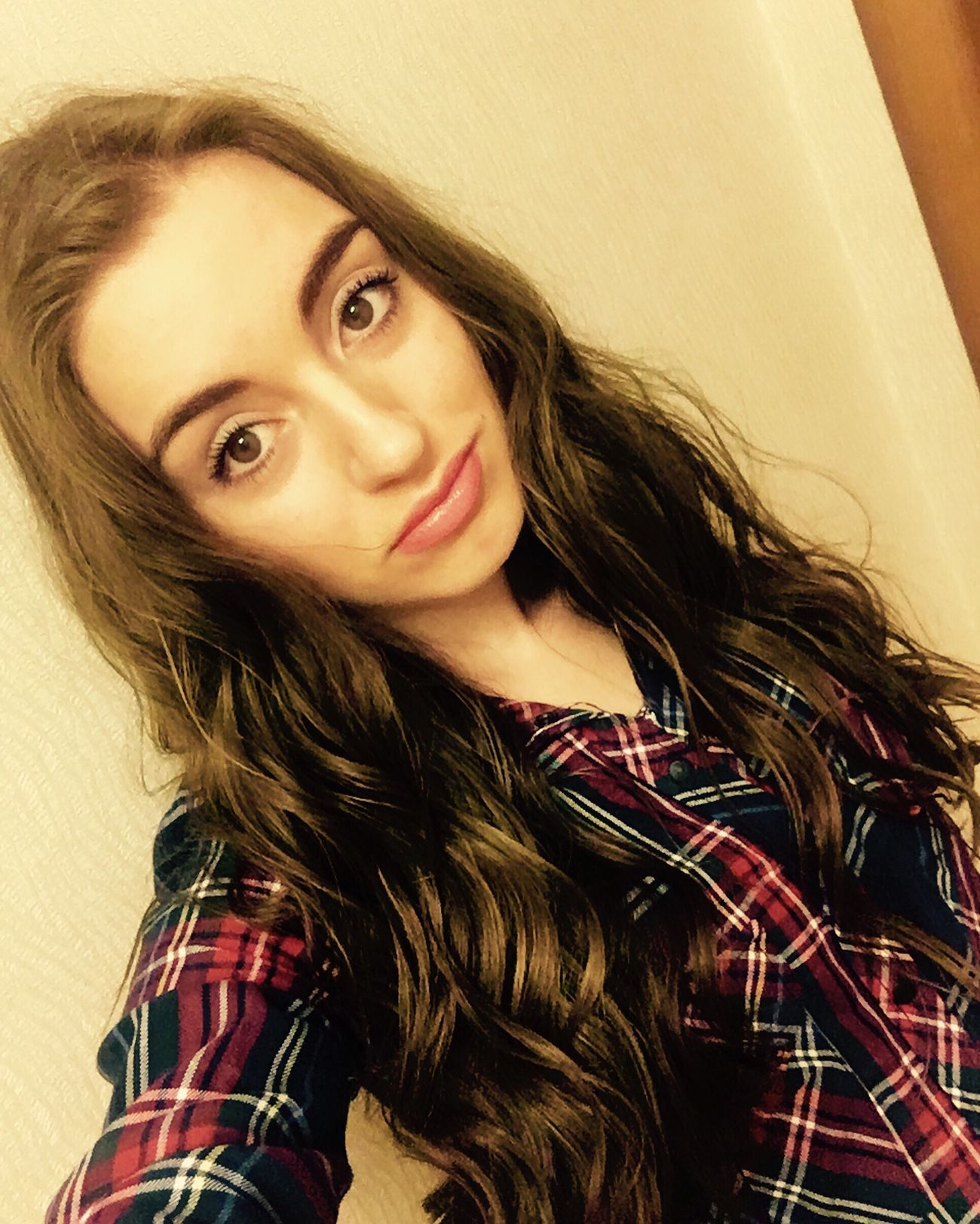 Beautiful Girl Long Hair Msk Morning Moscow Girl