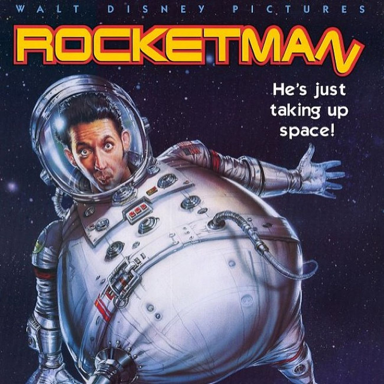 Watching Rocketman Itwasntme Astronaut FredRandall HarlandWilliams
