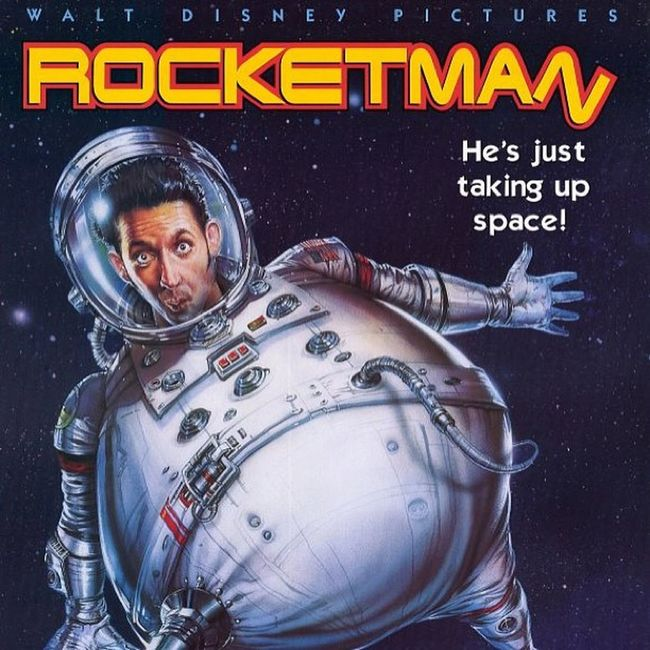 Watching Rocketman Itwasntme Astronaut FredRandall HarlandWilliams