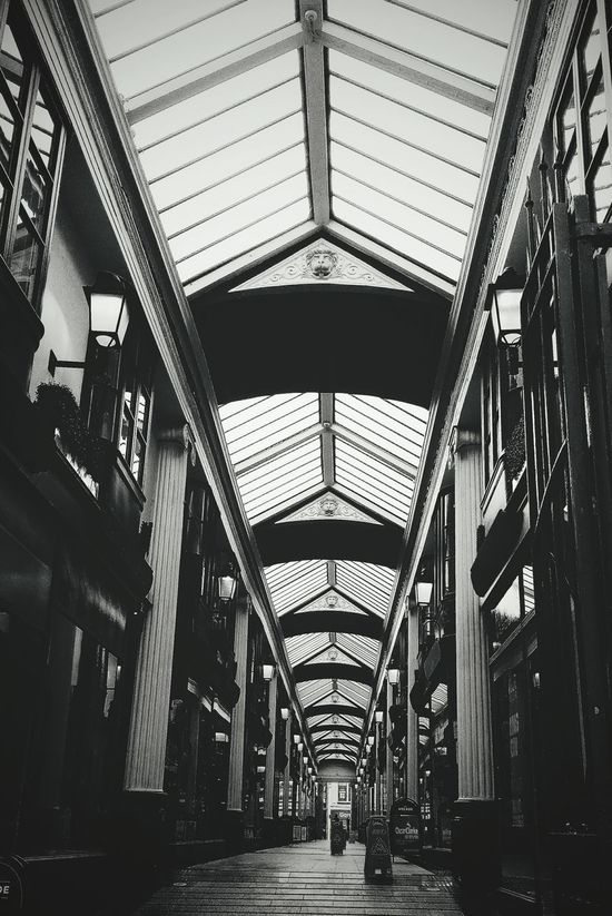 Shopping Arcade. Indoors  Architecture Built Structure No People City Arcade Built Environment Shopping Mall Shopping Shopping Arcade Classic Architecture Glamourous Independent Shop Retail  Retail Store Retail Experience Shopping Experience Shopping Centre Shopping Street Shopping Center Bristol Uk Uk Retail Broadmead Architecture_collection The Architect - 2017 EyeEm Awards EyeEmNewHere