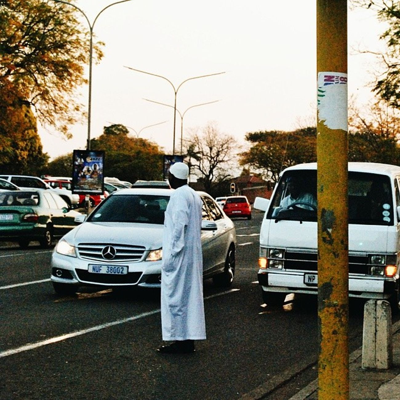 How to cross a street in South Africa. Street Streetphotography Instagram_sa Igerssouthafrica mobilephotography nikon man crossing islam taxi vsco vscocam vsco_hub instadaily instagood instafollow twilight shoot2kill takephotos liveauthentic life snapture wednesday humpday pietermaritzburg africa 230714