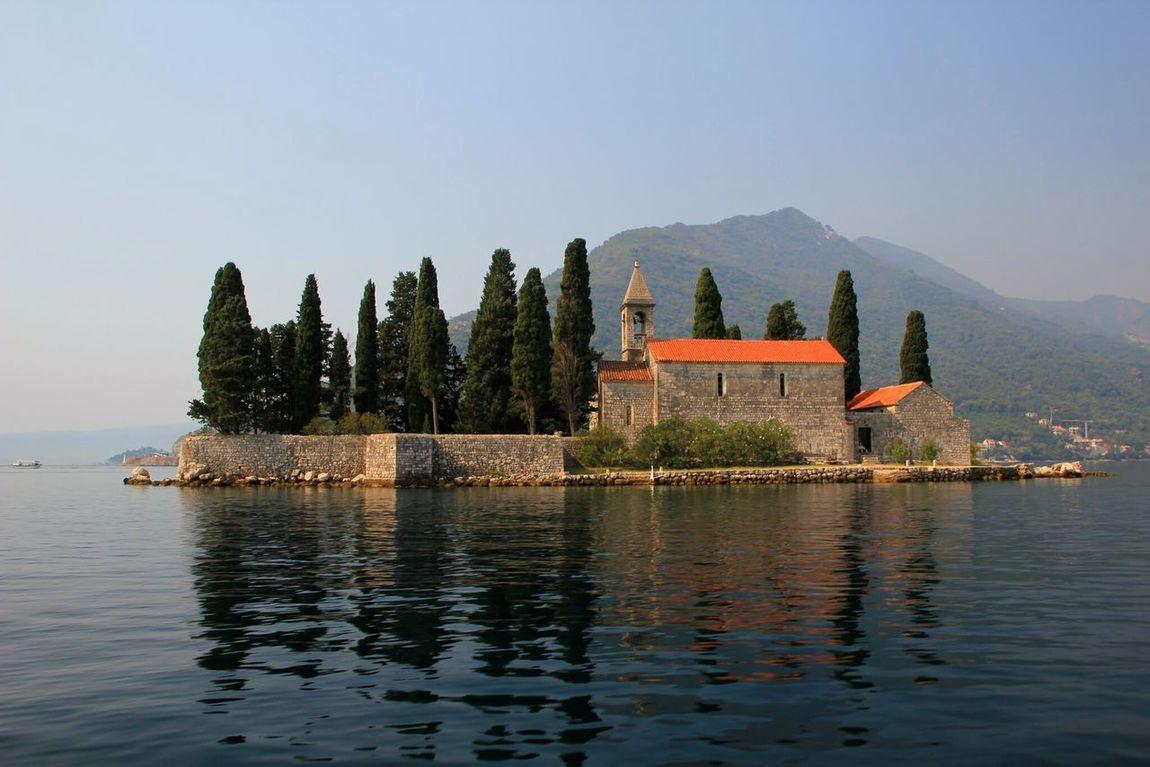 PERAST Montenegro Gospa Od Škrpjela Montenegro🌊💙👈 Blue No People Water Tree Sky Outdoors Landscape Day