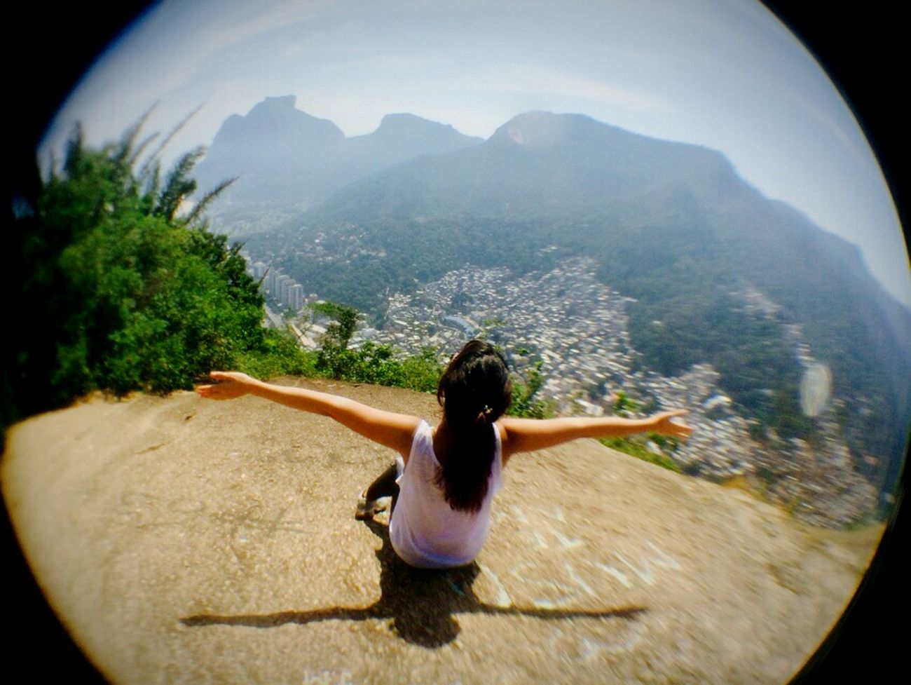 enjoy one of the wonders of the world ✌❤ Relaxing Enjoying Life Taking Photos Good Energies Landscape Nature Thats Me  Check This Out Rio De Janeiro Fisheye
