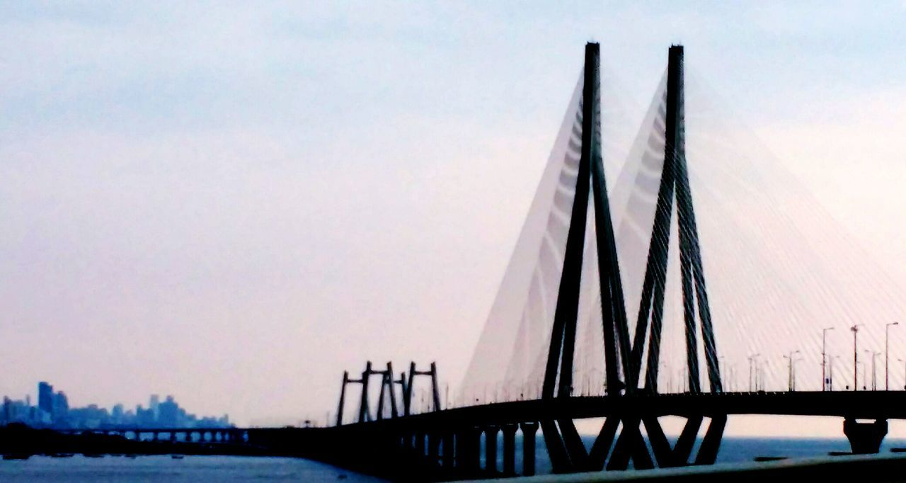 Blue Wave Bandra Worli Sea Link Evening Peace Incredable India India Mumbai Maharashtra First Eyeem Photo