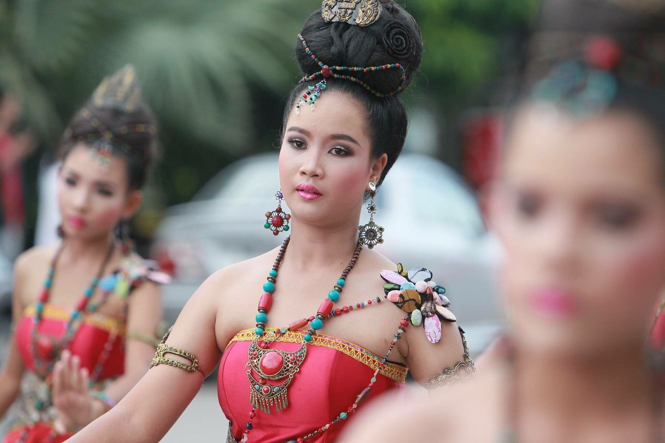 Spotted In Thailand Folk Dance Ranong Carnival Thailand
