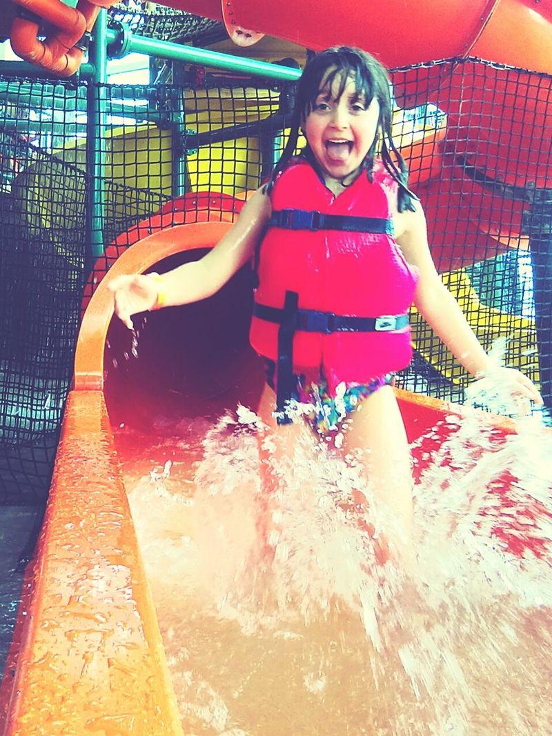 Hi! Hello World Feel The Journey Water Park Fun Summer Day Uniqueness
