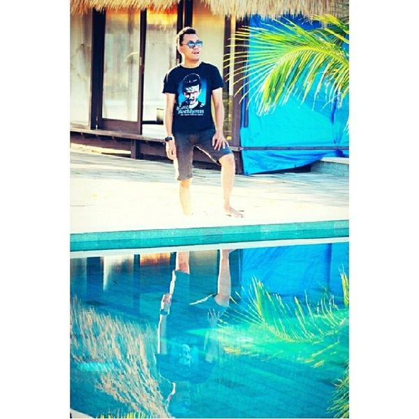 D air Pokari... Hahahaaa WonderfullTripOnNembrala Nembrala Rote Roteisland indonesia ntt NembralaBeach vacation trip