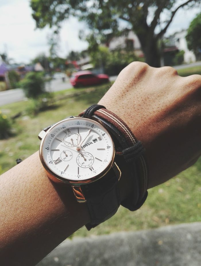 ⌚ Watch Fossil Fossil Watch Menswear Menstyle Mensfashion Fav Favourite Favoritethings Men Time Close-up Honor7 Jam