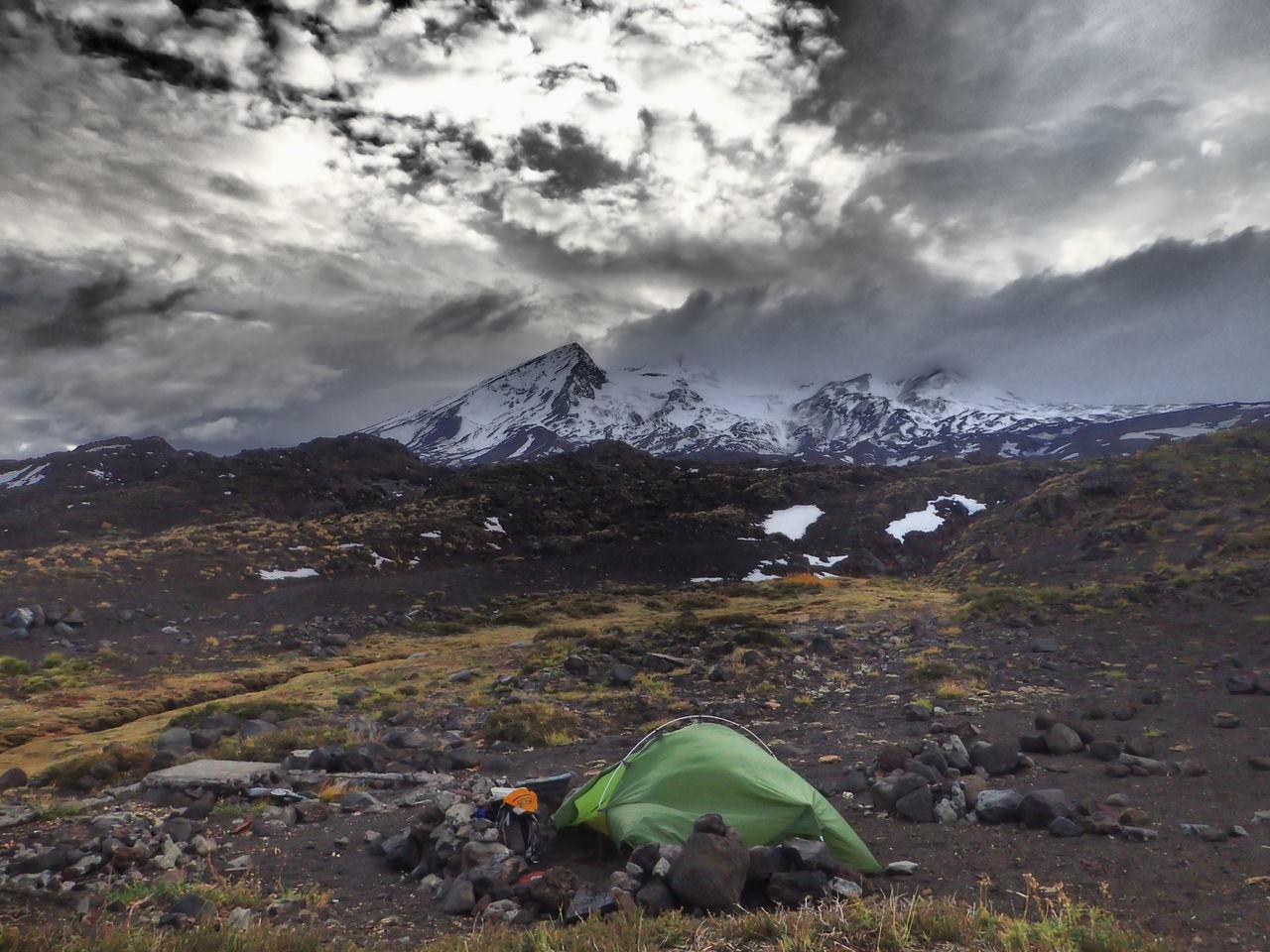Camping near Nevado De Chillán