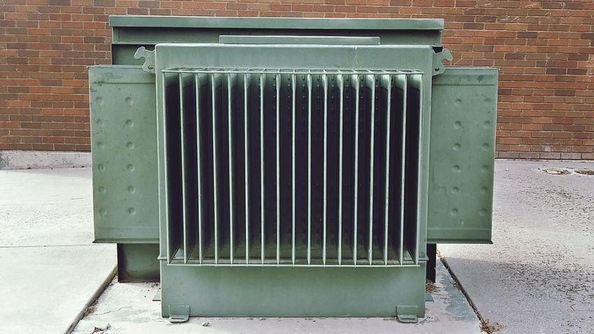 Structure Metal No People Built Structure Radiator Architecture Day Outdoors Aluminum Close-up Looking Down Heat - Temperature Green Color Metal Structure Older Than Me Metal Industry Business Finance And Industry Object Photography Rules Are Made To Be Broken Caught In The Moment