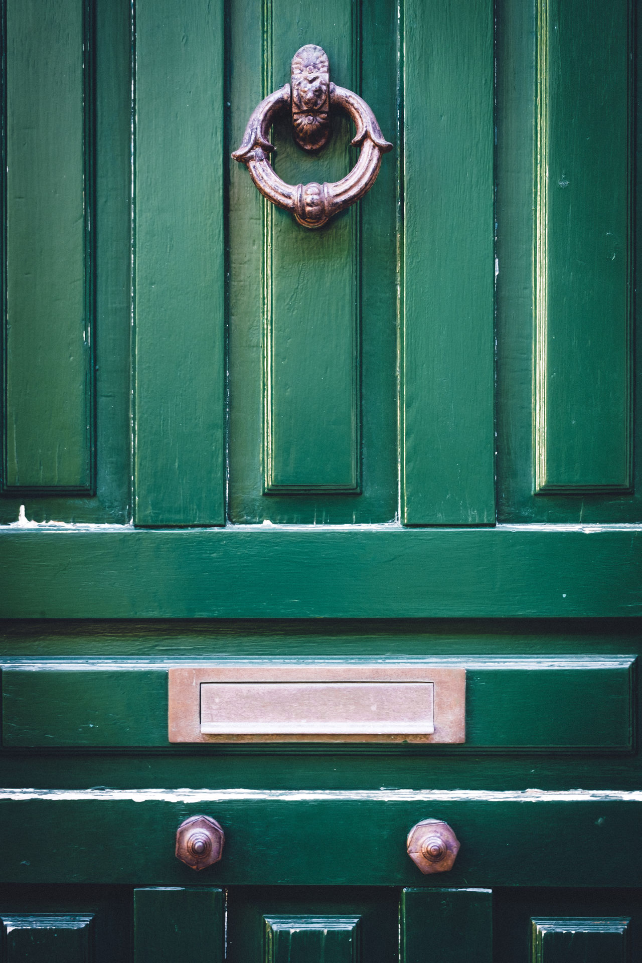 Antique Architecture Backgrounds Brass Building Exterior Classic Close-up Closed Day Decorative Detail Door Doorknocker Entrance Green Color Home Lion Lions Metal No People Old Outdoors Postbox Symbol Vintage