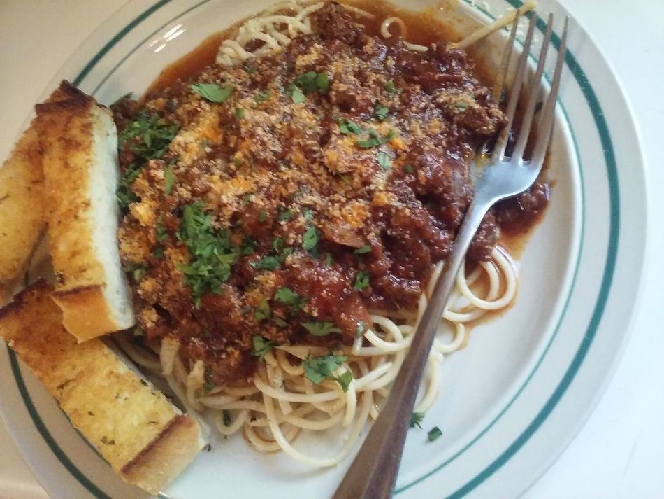 Foodphotography Food Porn Foodpics Dinner Plate Dinner Time Spagetti Spagetty Images Pasta Dish Meat Sauce