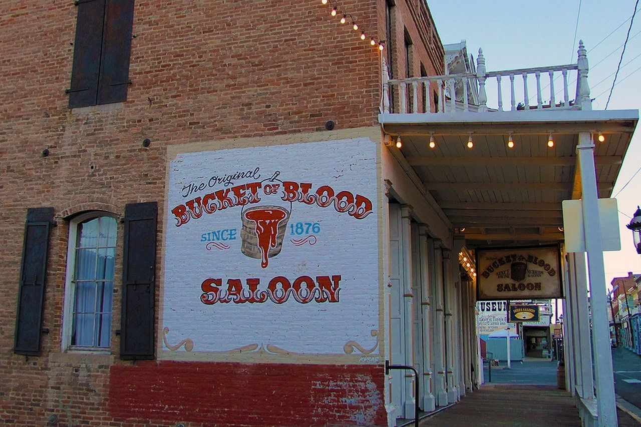 Hanging out at Bucket Of Blood Saloon Hanging Out
