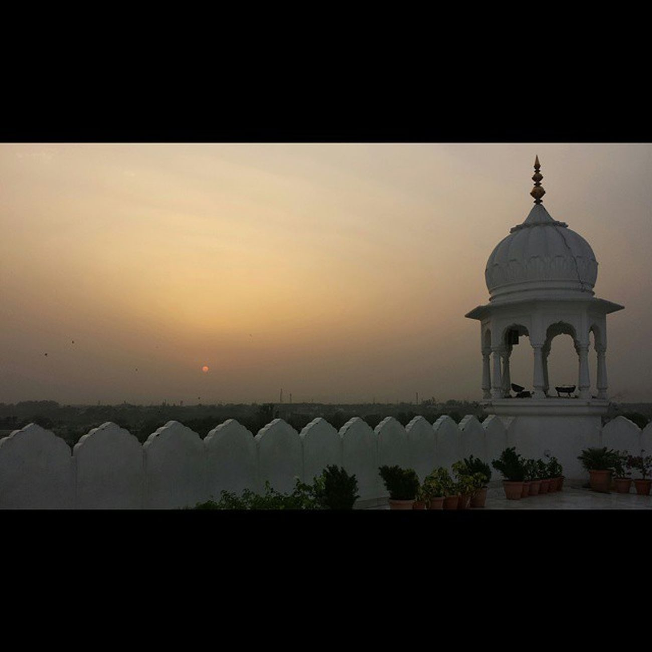 Sunset in ANANDPURSAHIB Gurdwara AnandGharh Punjab India setlife doclife Sikh sikhlife