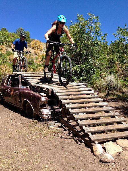 CyclingUnites Mountain Biking Cycling American Steel Colorado Girl Power Girls Just Wanna Have Fun :) Bikes Bike Park Ride The Great Outdoors - 2017 EyeEm Awards