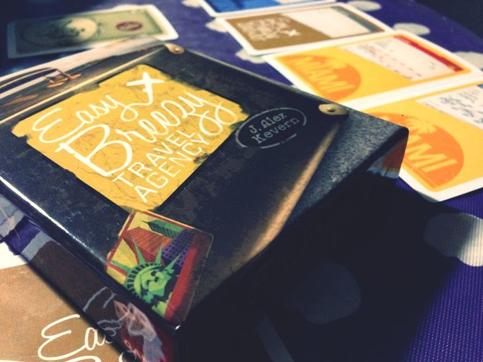 great filler. easy breezy travel agency. Cardgame Dicehatemegames Boardgamegeek Game