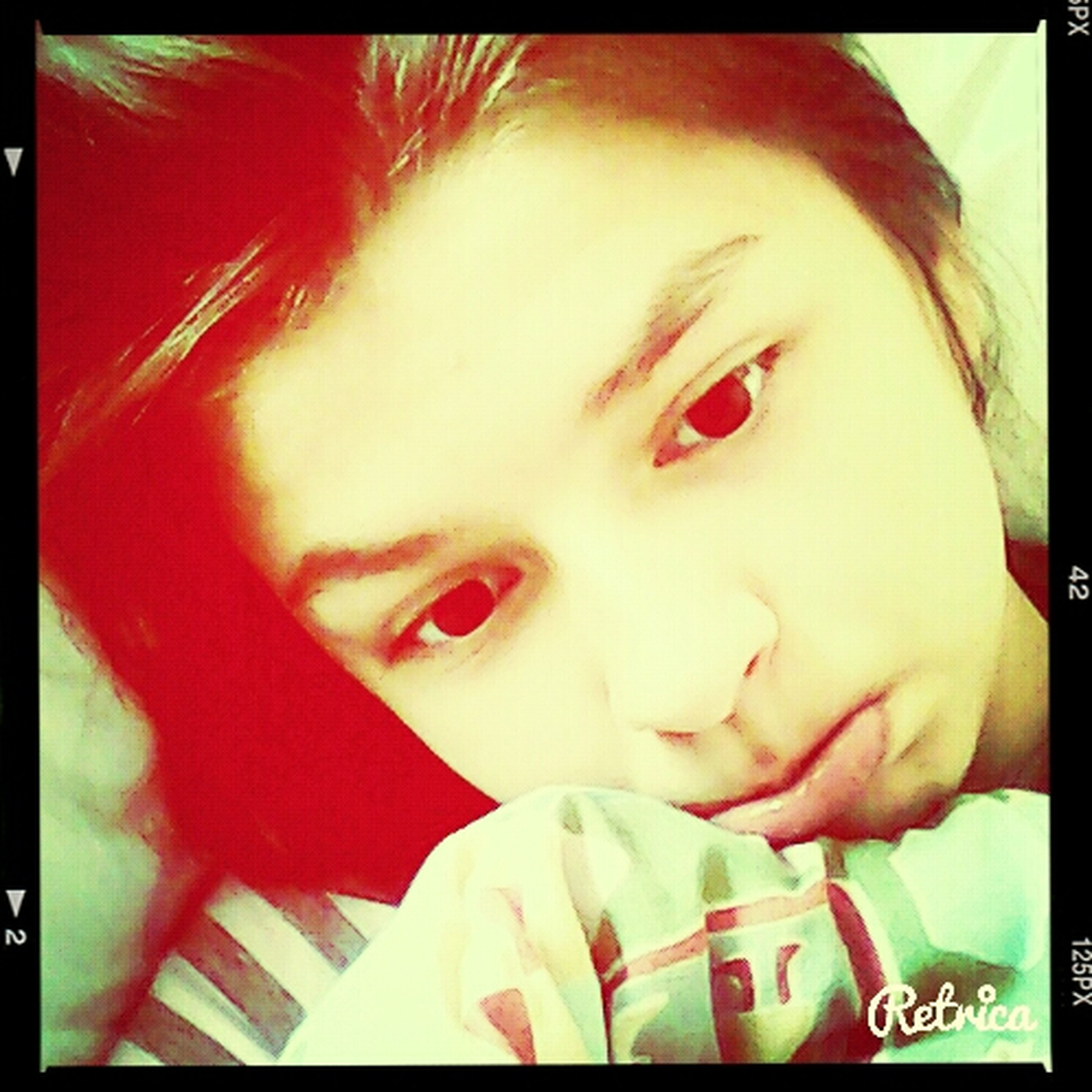 In my bed Rest