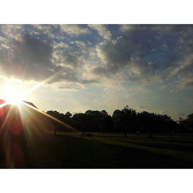 A gorgeous evening out in the sunshine :):100happydays Day88 Summer Sun love yay sunset clouds
