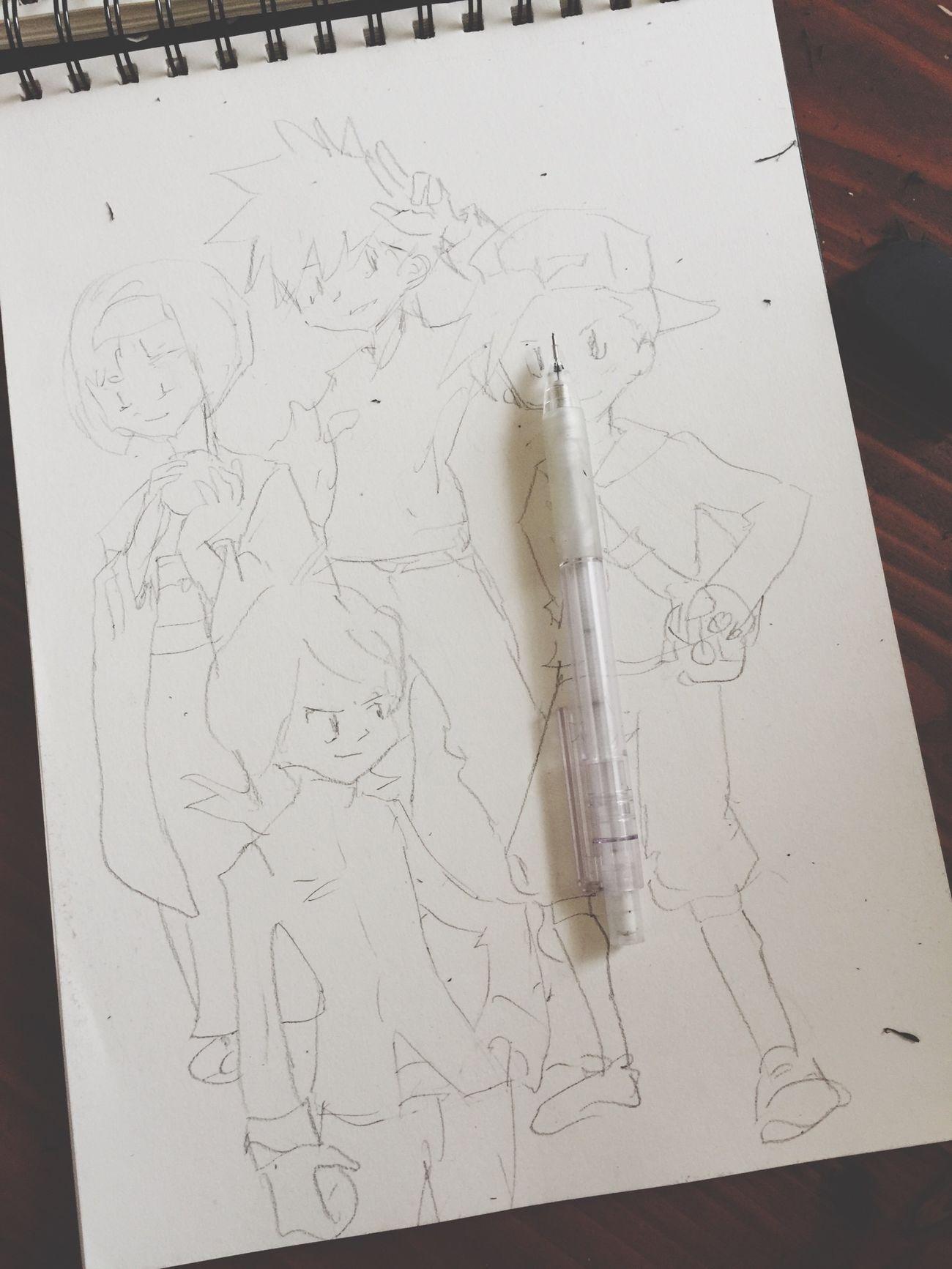 Pokedraw Illustration MyDrawing Pokémon ポケモン